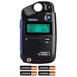 Sekonic L-308X-U Flashmate Light Meter with Xpix Deluxe Came
