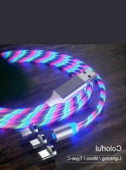 LED Light Up Charger Cable USB for Android Samsung iPhone  6