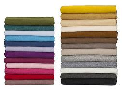 Neotrim Soft Jersey,Knit Purl Brushed Fabric,26 Colors Baby